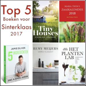 Top 5 boeken voor Sinterklaas 2017
