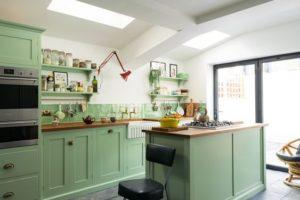 De groene keuken