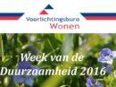 Week van de Duurzaamheid 2016