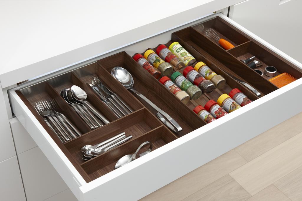 Keukenlade indeling