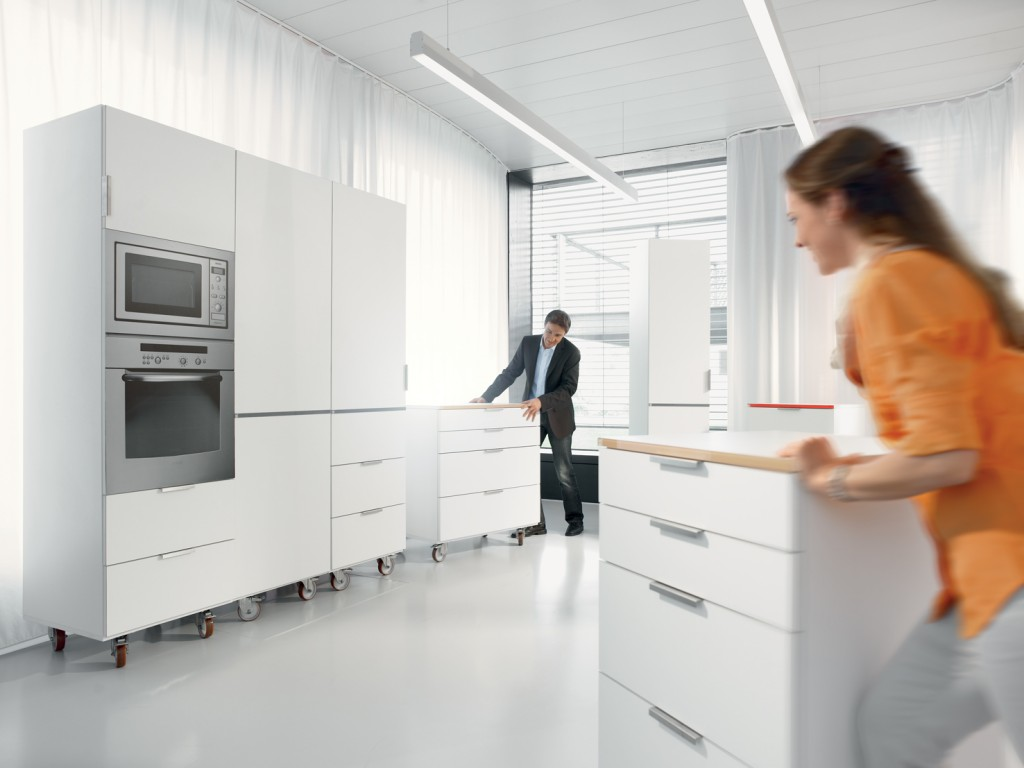 Richt de keuken praktisch in