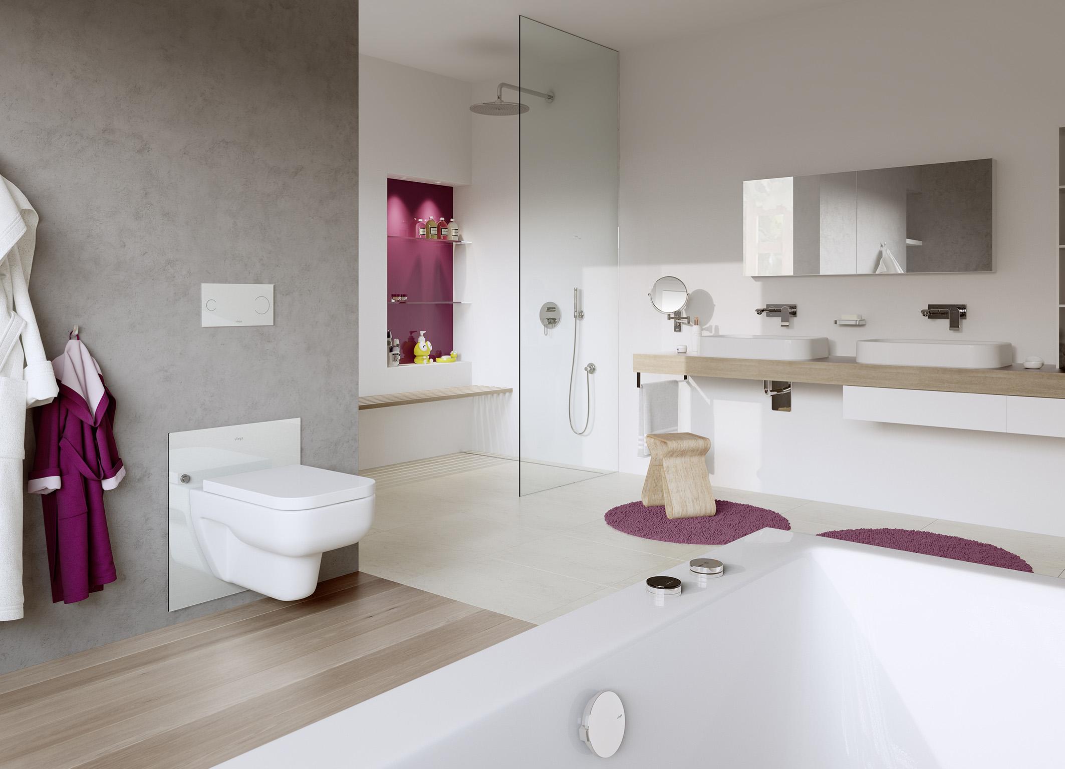 Badkamer voor iedere leeftijd en lengte voorlichtingsburo wonen - Badkamer in lengte ...