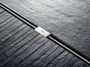 Douchegoot met strak design en rechte lijnen