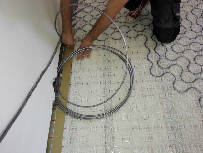 Favoriete Vloerverwarming voor alle vloeren - Voorlichtingsburo Wonen HK36
