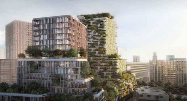 Utrecht krijgt een verticaal bos