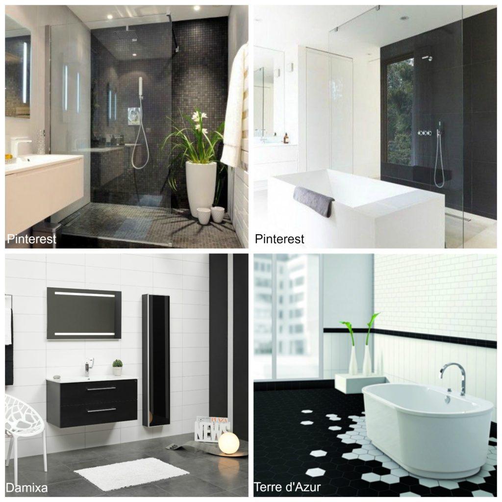 5 x zwart wit interieur voorlichtingsburo wonen for Interieur badkamer