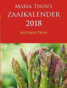 Zaaikalender 2018