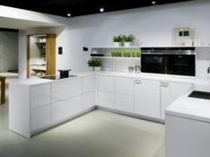 zwart witte keuken Poggenpohl