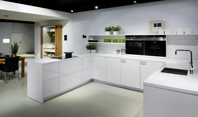 Witte Keuken Design : Zwart witte keuken voorlichtingsburo wonen