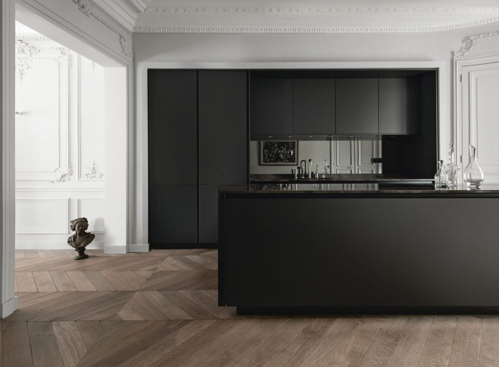 Chique Industriele Keuken : Zwarte keuken is stijlvol en chique voorlichtingsburo wonen