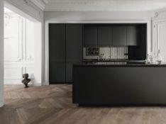 Zwarte keuken is stijlvol en chique