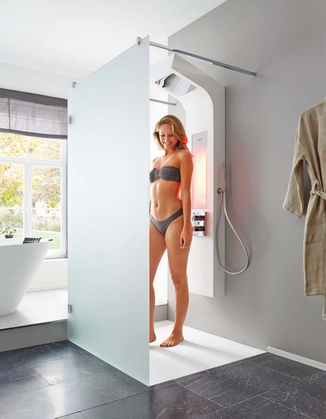 Gezondheid bevorderen onder de douche
