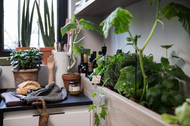 Urban keuken is vol contrasten