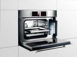 Koken met stoom - Bosch